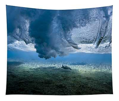 Turtle Turbulence Tapestry