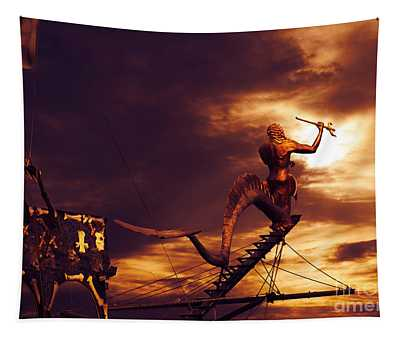 Pirate Ship Tapestry