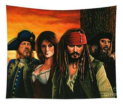 Pirates Of The Caribbean  Tapestry