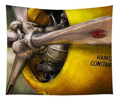Plane - Pilot - Prop - Twin Wasp Tapestry