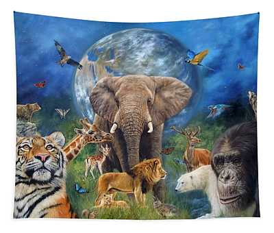 Planet Earth Tapestry