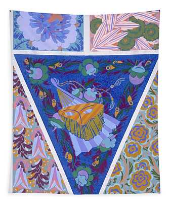 Plate 3, From Forms And Colours, C.1930 Tapestry