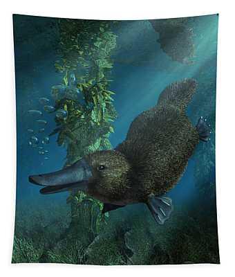 Platypus Tapestry