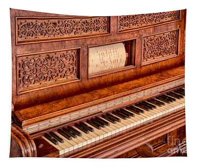Piano Keys In The Key Of Life Tapestry