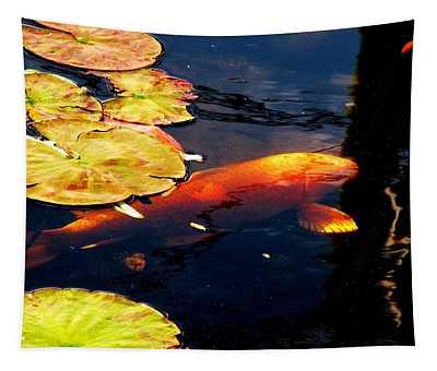 Playing Koi Tapestry
