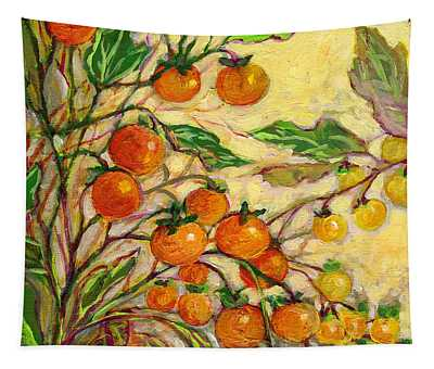 Plein Air Garden Series No 15 Tapestry