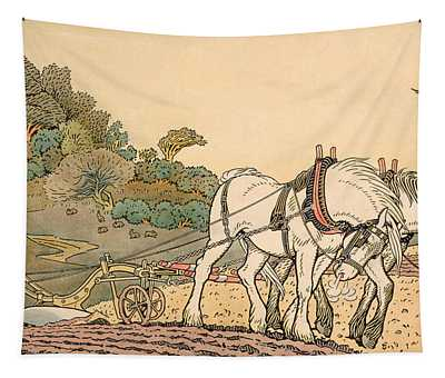 Plowing Tapestry