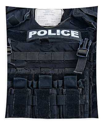 Police - The Tactical Vest Tapestry