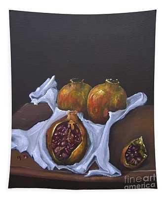 Pomegranates Tapestry