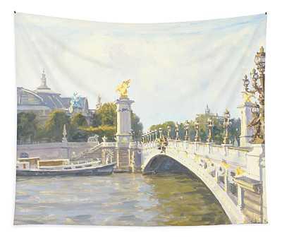 Pont Alexandre IIi Tapestry