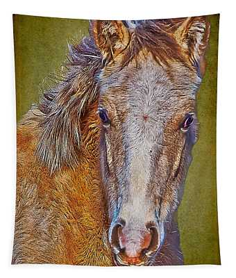 Pony Portrait  Tapestry