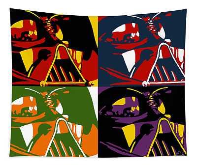Pop Art Vader Tapestry