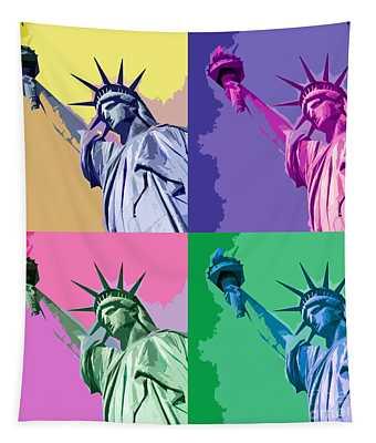 Pop Liberty Tapestry