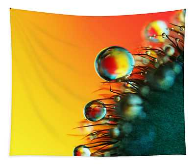 Poppy Drops Tapestry
