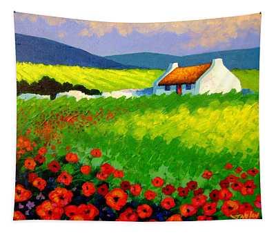 Poppy Field - Ireland Tapestry