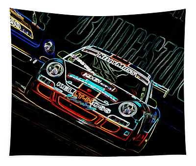 Porsche 911 Racing Tapestry