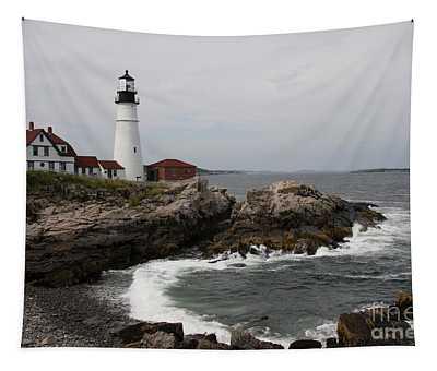 Portland Head Light - M E Tapestry