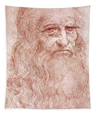 Portrait Of A Bearded Man Tapestry
