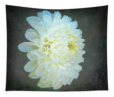 Portrait Of A Dahlia Tapestry