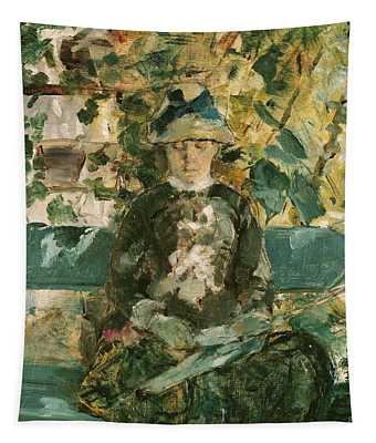 Portrait Of Adele Tapie De Celeyran Tapestry