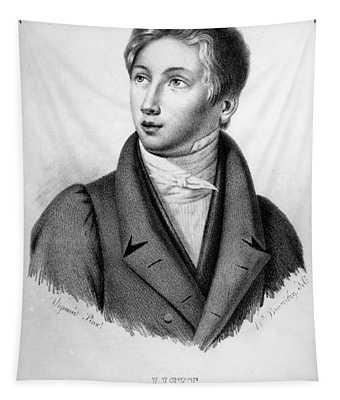 Portrait Of Franz Liszt As A Boy Tapestry