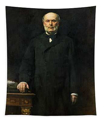 Portrait Of Jules Grevy 1807-91 1880 Oil On Canvas Tapestry