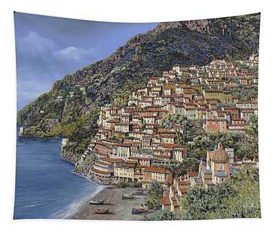 Positano E La Torre Clavel Tapestry