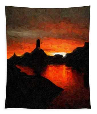 Powell Sunset Tapestry