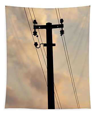 Power Pole Tapestry