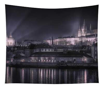 Prague Castle And St Nicholas Tapestry
