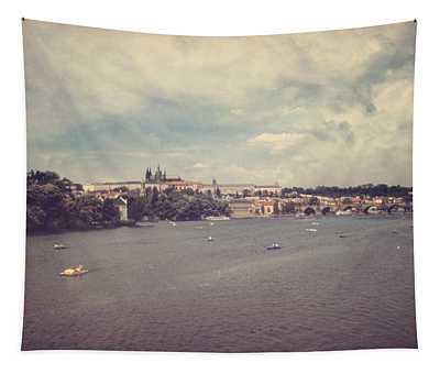 Prague Days II Tapestry