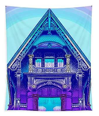 Victorian Gable Tapestry
