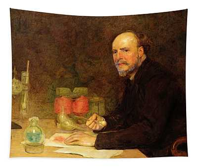 Professor Sir James Dewar 1842-1923 After Sir William Orchardson 1832-1910 Tapestry