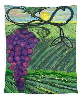 Prophetic Message Sketch 18 Vineyard Infinity Trinity Tapestry