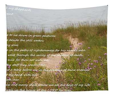 Psalm 23 Path  Tapestry