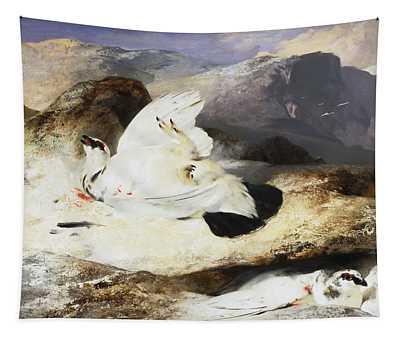 Ptarmigan In A Landscape Tapestry