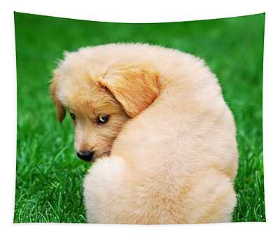 Puppy Love Tapestry