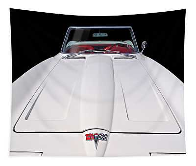 Pure Enjoyment - 1964 Corvette Stingray Tapestry