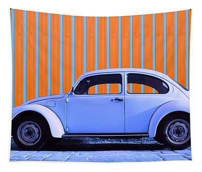 Purple Bug Tapestry