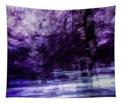 Purple Fire Tapestry