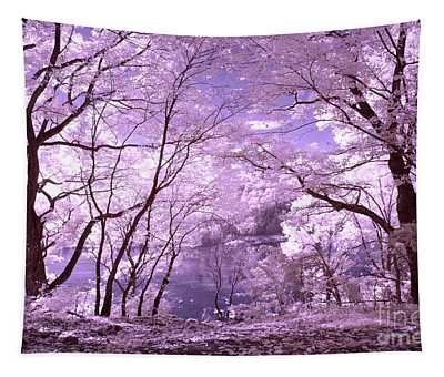 Purple Forest Tapestry