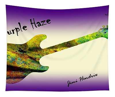 Purple Haze Scuse Me While I Kiss The Sky Hendrix Tapestry