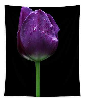 Purple Tulip Tapestry