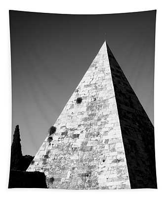 Pyramid Of Cestius Tapestry