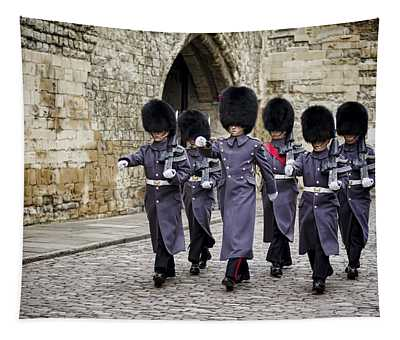 Queens Guard Tapestry