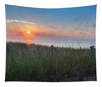 Race Point Sunset Tapestry