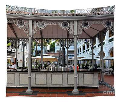 Raffles Hotel Courtyard Bar And Restaurant Singapore Tapestry