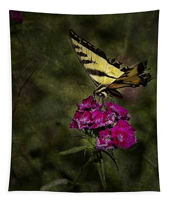 Ragged Wings Tapestry