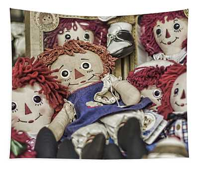 Raggedy Ann And Andy Tapestry