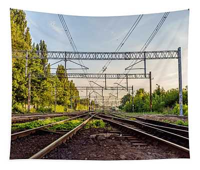 Railway To Nowhere Tapestry